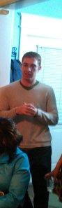 Adam Angel, of Sasha Bruce Youthwork speaking