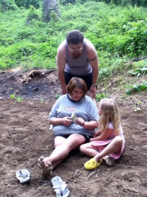 Family teaching moment