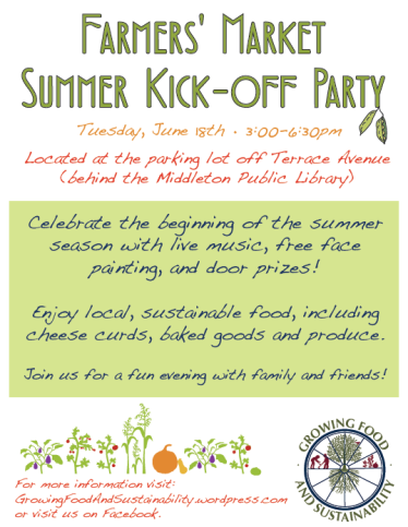 Summer Kick-off flyer