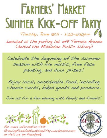 Summer Kick-off flyer