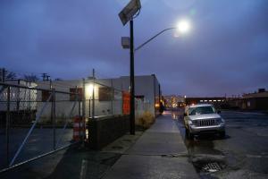 The Victor Streetlight, shining dutifully