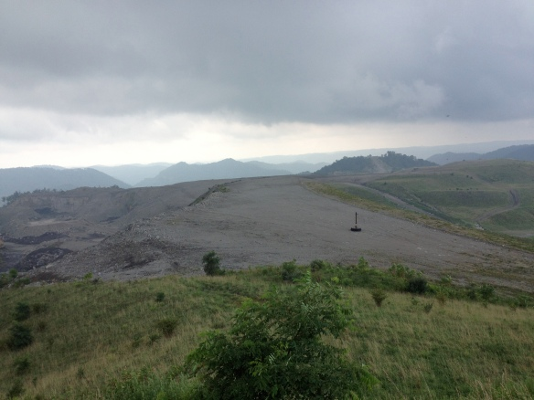 View from Kayford - Mountaintop Removal Site